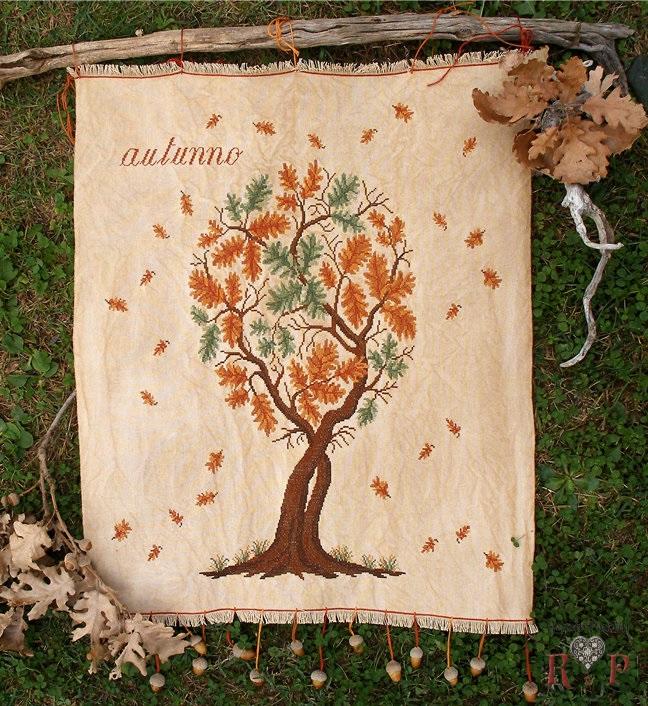 Quercia in autunno